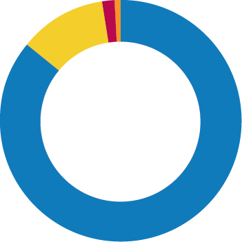 Income by category for the year ended 30 June 2019